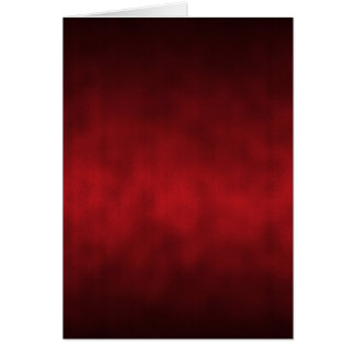 Red Gothic Ombre Background Art Card