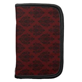 Red Gothic Wallpaper Rickshaw Folio Folio Planner