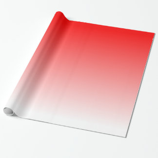 Red Gradient Wrapping Paper
