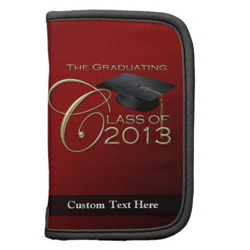 Red Graduating Class of 2013 Folio Planner