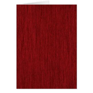 Red Grainy Wood Background Card