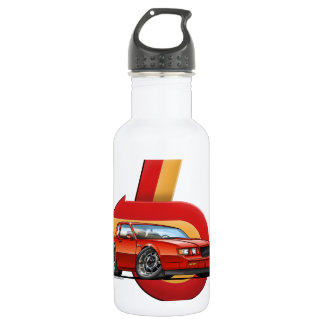 Red Grand National 18oz Water Bottle