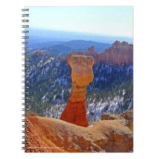 Red Grandfather Spiral-Bound Notebook