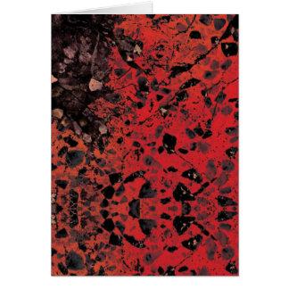 Red Granite Cards