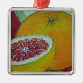 Red Grapefruit Ornament