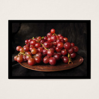Red Grapes ATC Business Card
