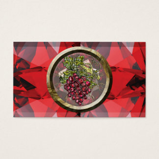 Red Grapes Business Card
