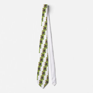 Red grapes in a vineyard tie