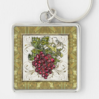 Red Grapes Keychain