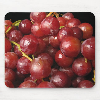 Red Grapes Mouse Pad