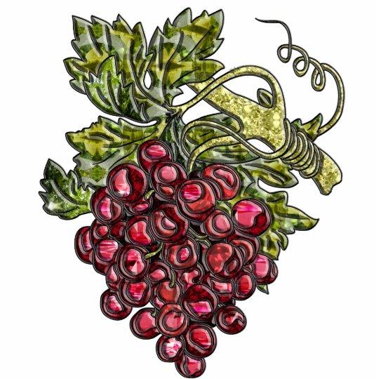 Red Grapes Statuette