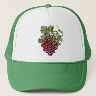 Red Grapes Trucker Hat