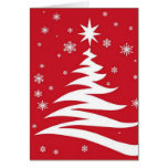 Red graphics for Christmas - Cards