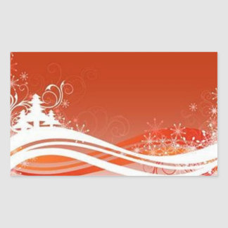 Red graphics for Christmas -