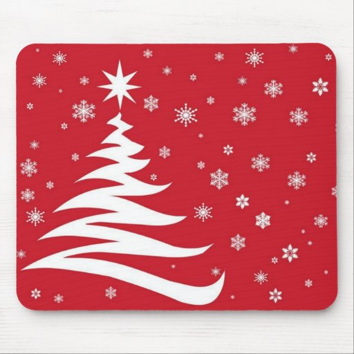 Red graphics for Christmas - Tapetes De Raton