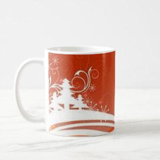 Red graphics for Christmas - Tazas De Café