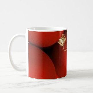 Red graphics for Christmas - Taza De Café