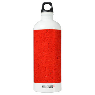 red Graphite Abstract Antique Junk Style Fashion A Aluminum Water Bottle