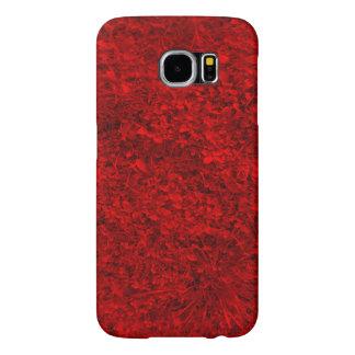 Red Grass Samsung Galaxy S6 Case