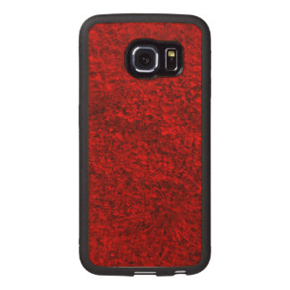 Red Grass Wood Phone Case
