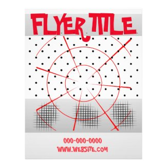 Red Gray Flyer Theme Template