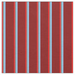 [ Thumbnail: Red, Gray, Light Sky Blue, and Maroon Pattern Fabric ]
