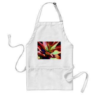 Red & Green Agave Adult Apron