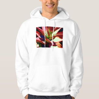 Red & Green Agave Hoodie