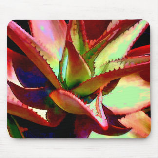 Red Green Agave Mousepads
