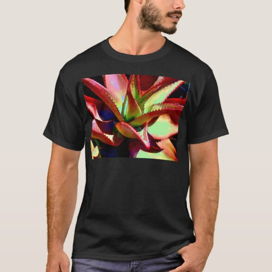 Red & Green Agave T-Shirt