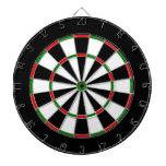 Red Green Black Dartboard