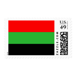 Red, Green, Black Stamp