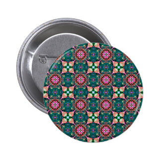 Red Green Blue Abstract Pinback Buttons