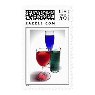 Red Green Blue drinks Postage