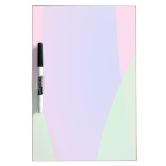 Red Green Blue Vivid Abstract Art Dry Erase Board