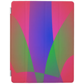 Red Green Blue Vivid Abstract Art iPad Cover