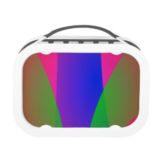 Red Green Blue Vivid Abstract Art Yubo Lunchboxes
