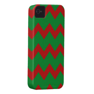 Red Green Chevrons Case iPhone 4 Case-Mate Case