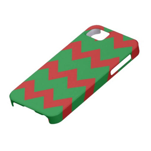 Red Green Chevrons Case iPhone 5 Cases