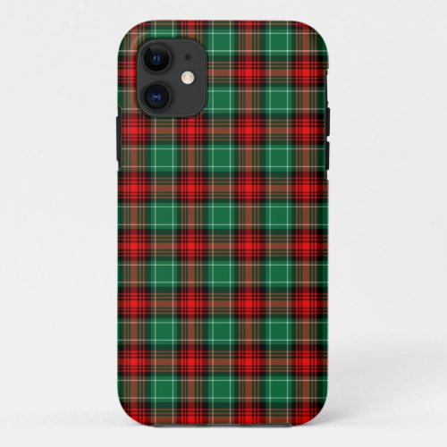Red Green Christmas Plaid Phone Case