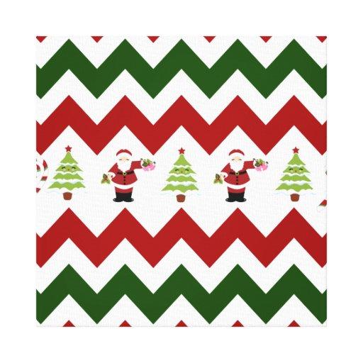 Christmas print green