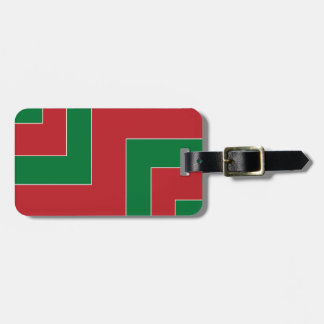 Red/Green Color Corner (MB) Luggage Tag