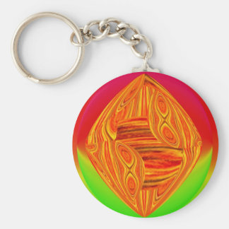 Red Green Colorbox Keychain