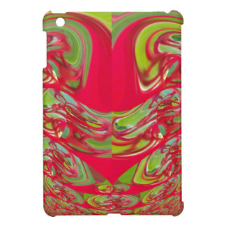 Red Green Flora Vintage Hakuna Matata Gifts Case For The iPad Mini