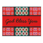 Red Green God Bless You Postcard