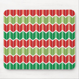 Red Green Large Knit Mouse Pad