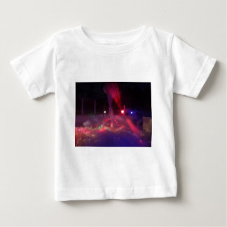 red green lasers fog foam party night baby T-Shirt