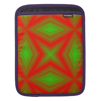 red green line sleeve for iPads
