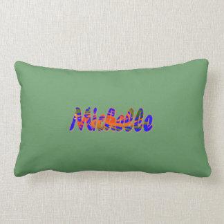 Red & Green Lumbar Pillow for Michelle