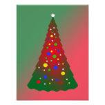 Red Green Merry Christmas Tree Photo Print